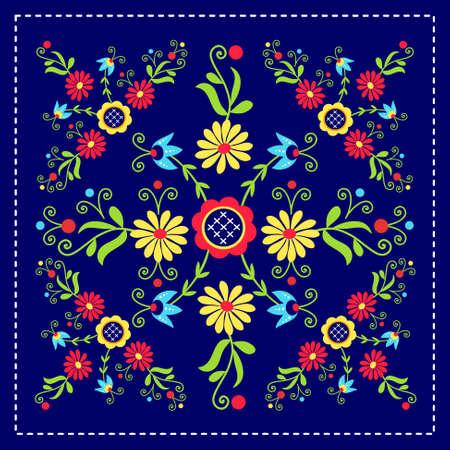 polish folk pattern