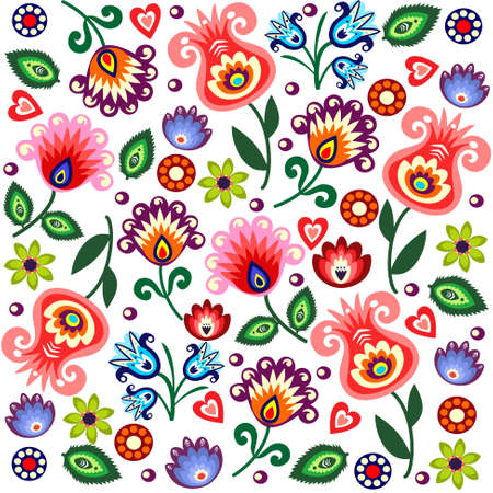 folk: polish pattern folk