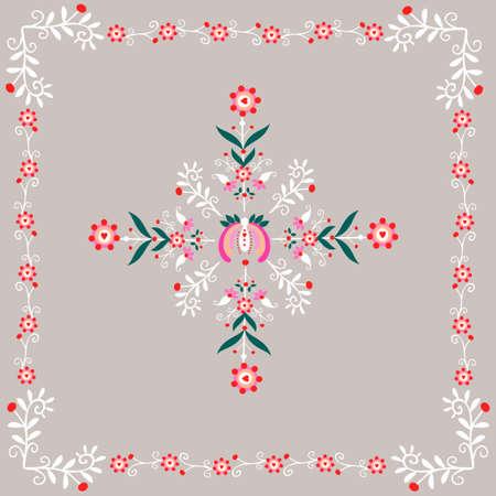 polish folk pattern - embroidery