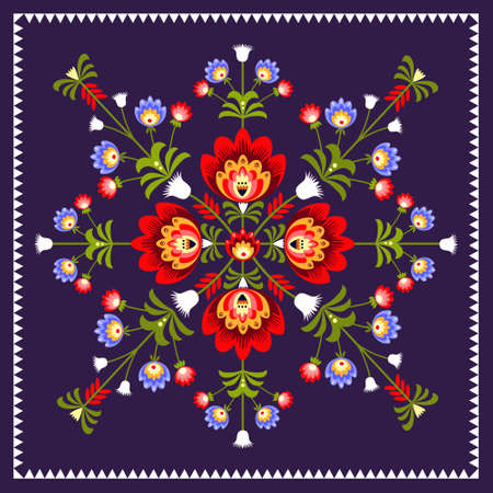polish pattern folk