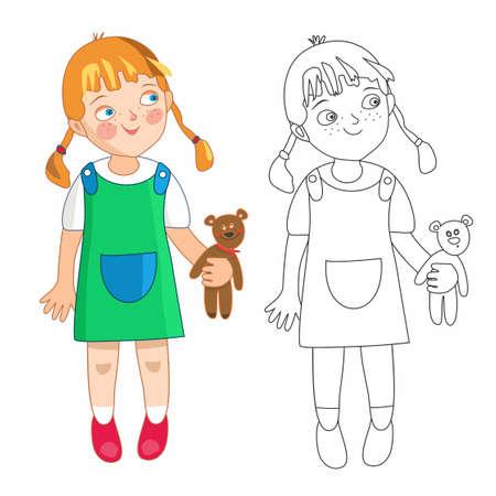 niño preescolar: Eva niña
