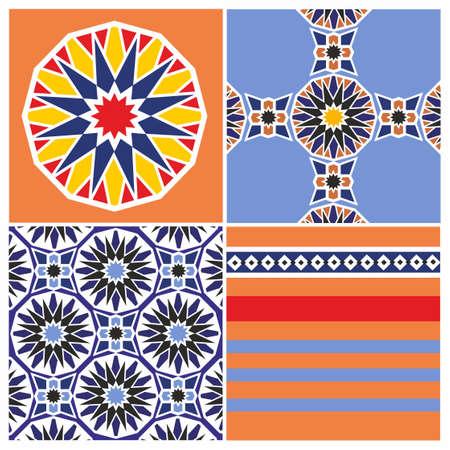 Arabic pattern design