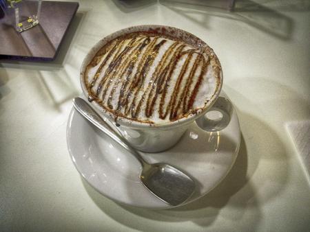 expressed: Italian breakfast - cappuccino