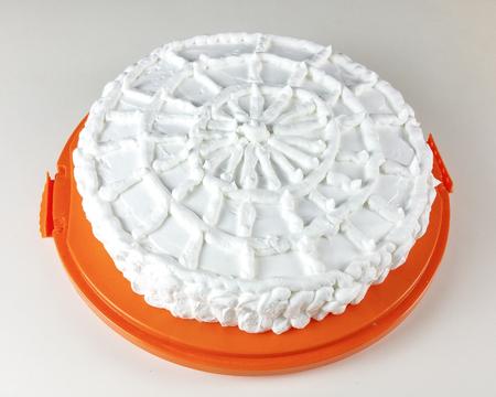 whipped: whipped cream cake Stock Photo