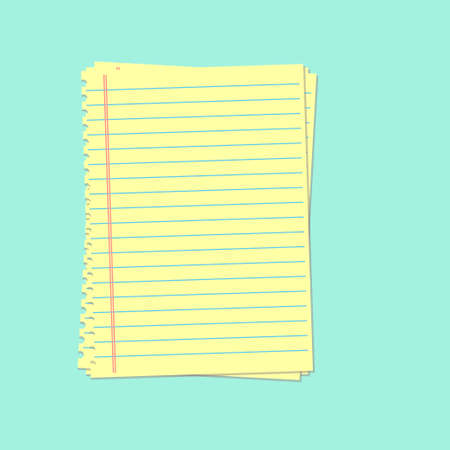 yellow paper: Yellow lined paper