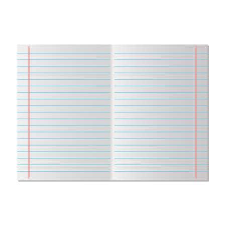 School paper line Illustration