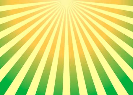 Abstract yellow sun rays vector background Archivio Fotografico - 138044711