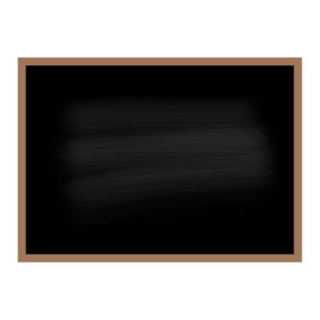 Black chalkboard background vector illustration