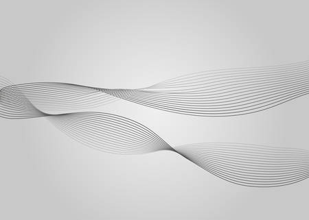 Abstract waves background. Vector illustration.