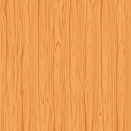 Holz Textur Hintergrundvektor. Vektorillustration der braunen Baumoberfläche Vektorgrafik