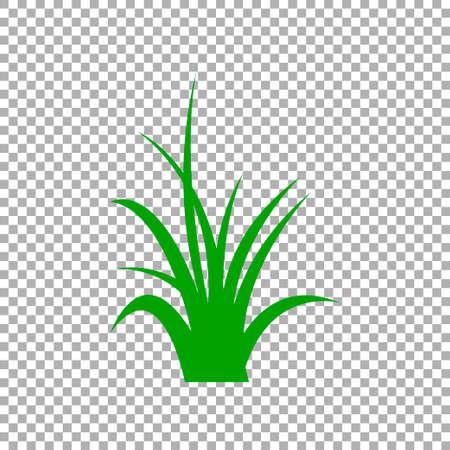 Grass icon isolated. Vector illustration Zdjęcie Seryjne - 146746405