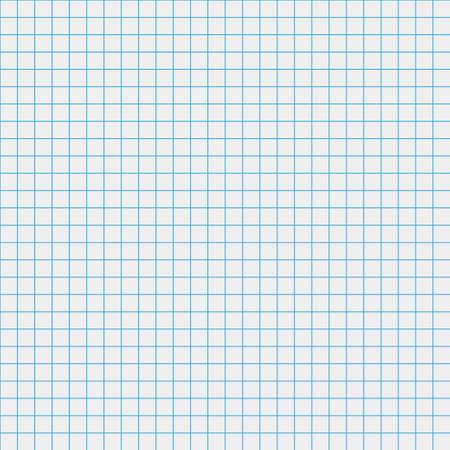School notebook paper. Square background.seamless pattern Ilustración de vector