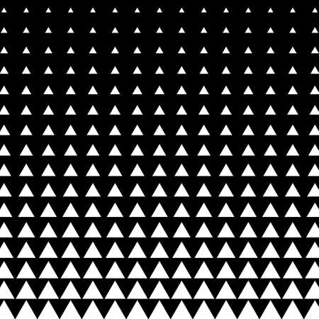 Abstract geometric triangle halftone background. Vector illustration Иллюстрация