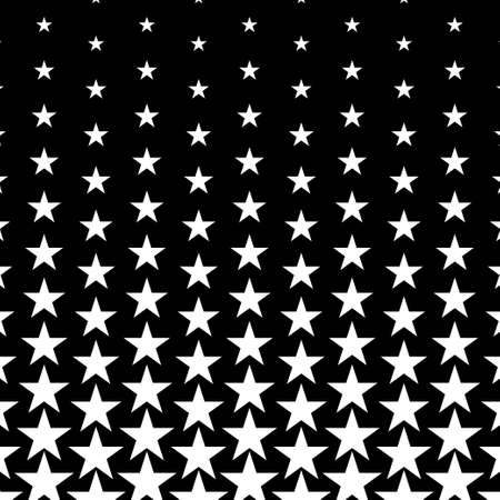 Abstract halftone stars background. Vector illustration