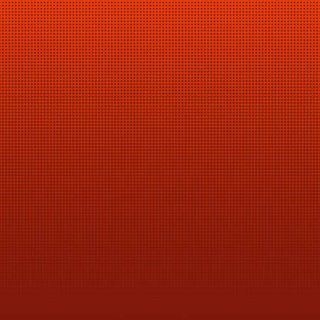 Abstract red halftone dots background. Vector illustration