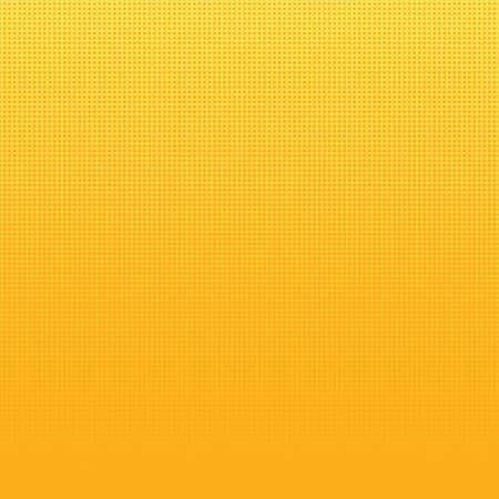 Yellow and orange gradient halftone dots background. Vector illustration