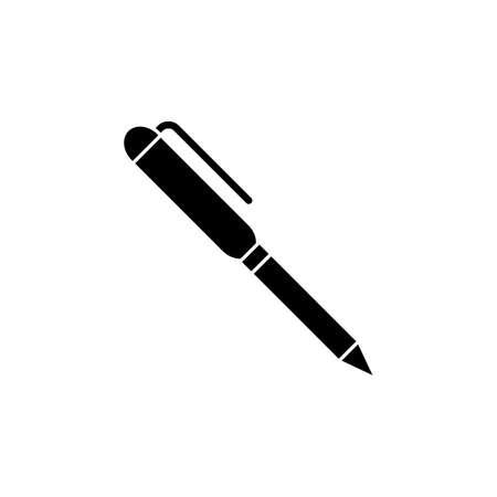 pen icon vector illustration. suitable for website design