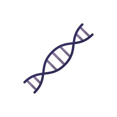 DNA icon. vector illustration. suitable for web design
