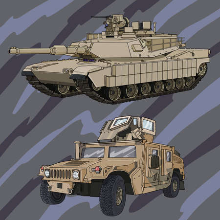 carbine: abram_hummer Illustration