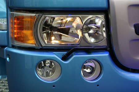 reflectors: modern truck details - reflectors and lights