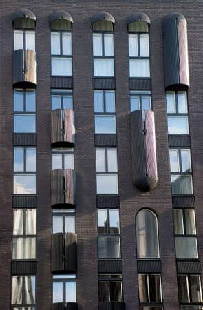unconventional: dettagli di costruzione non convenzionali appartamento esterno