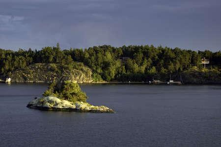islet: Rock Reef at Baltic Sea (Western Sweden)