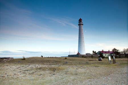 winder: White Metal Lighthouse - Tahkuna, Hiiumaa, Estonia