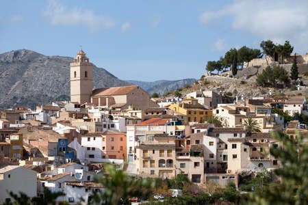 altea: Typical View of Small Settlement in Southern Spain - Costa del Sol Area
