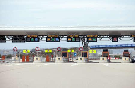 toll: First Class Highway TollPayment Gate