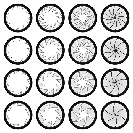 orifice: Multileaf Mechanism like simple leaf shutter Illustration