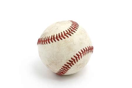 baseball isolated on white background photo