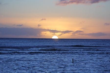 Blue sunset Imagens - 16938207