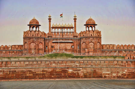 Red Fort New Delhi Stock Photo - 7817507