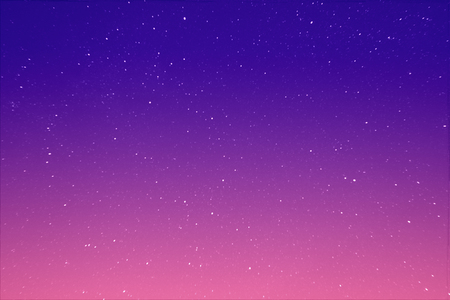 Abstract view on a stars in the evening purple sky as background, texture Reklamní fotografie