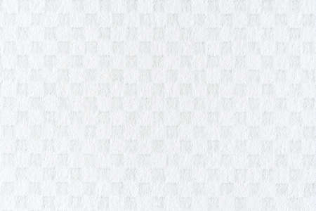 White paper surface with chess pattern texture