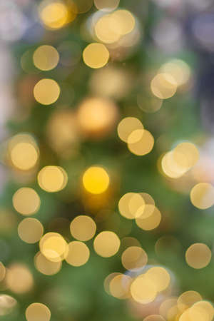 Abstract holiday golden light in bokeh (background)