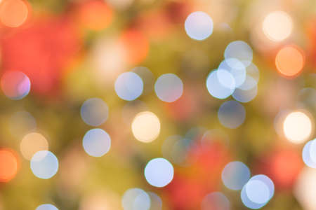 Abstract holiday colored light in bokeh (background)