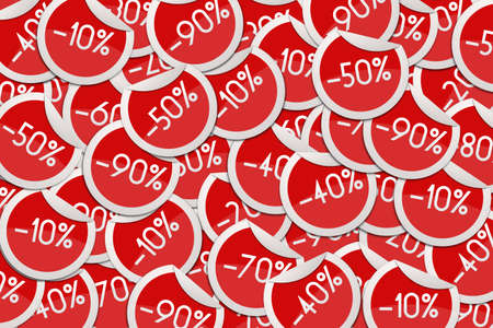 Discount Stickers Background photo