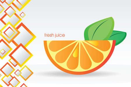 juicy: Juicy orange