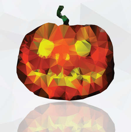 greeting card for Halloween - funny vector illustration Vector