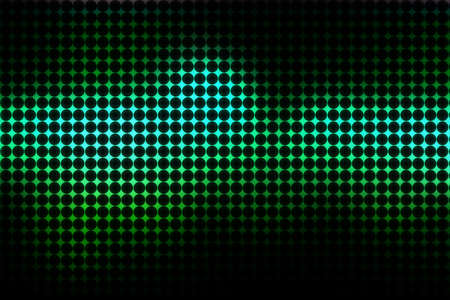 Dark blue and bright green disco background for design photo