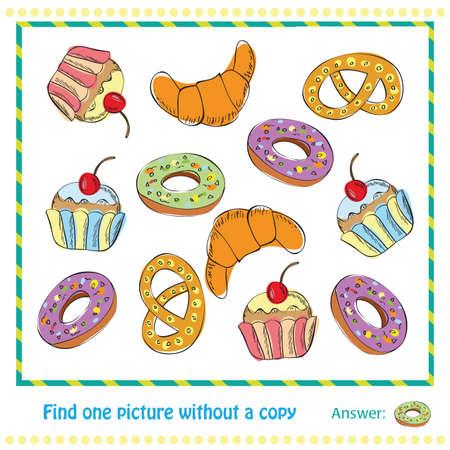 for children: Educational Game for Children Illustration