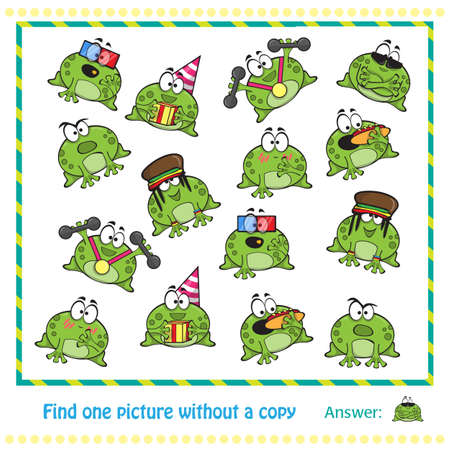 crazy frog: Emotional cute frogs Cartoon character - game for children
