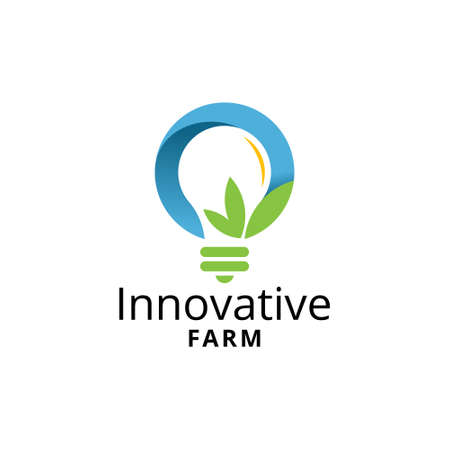Innovative Farm Modern Logo Template
