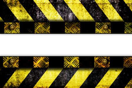 warning zone banner photo