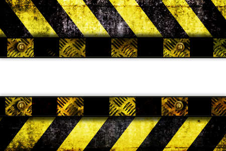 warning zone banner