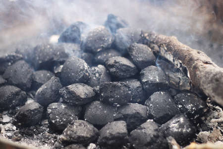 briquettes: smoked coal briquettes
