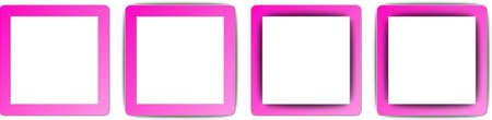 operating system: Hot Pink and White Colour Full Shadow Square App Icon Set