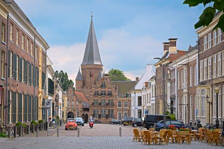 ZUTPHEN, NETHERLANDS - JULY 15, 2016: View on the marketsquare Editorial