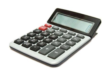 Calculator isolated on white background Standard-Bild